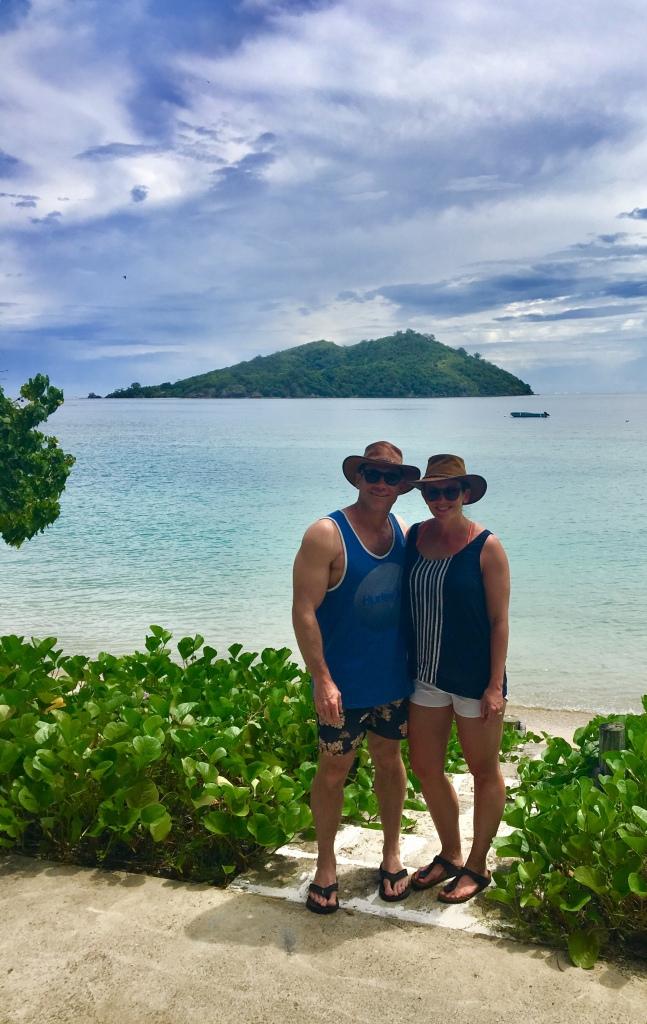 Honeymoon Island behind us