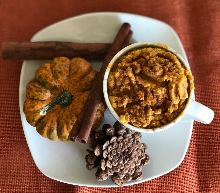 Pumpkin Spice MugCake